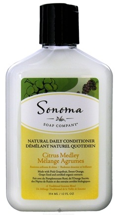 DROPPED: Sonoma Soap - Natural Daily Conditioner Citrus Medley - 12 oz. CLEARANCE PRICED