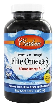 Zoom View - Norwegian Elite Omega-3 Gems Fish Oil Professional Strength