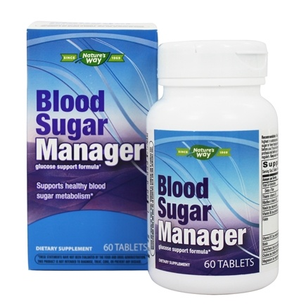 Enzymatic Therapy - Blood Sugar Manager Glucose Control Formula - 60 Tablets
