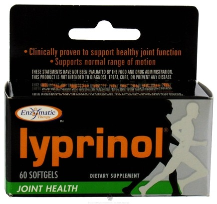DROPPED: Enzymatic Therapy - Lyprinol - 60 Softgels