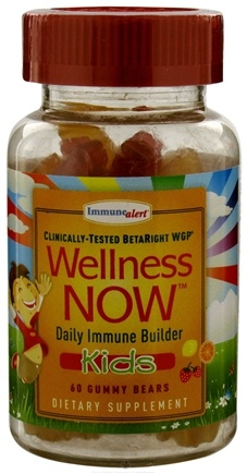 DROPPED: Wellness NOW - Kids Daily Immune Builder Lemon, Orange & Strawberry - 60 Gummies