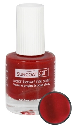DROPPED: Suncoat - Girl Water-Based Nail Polish Strawberry Delight - 0.27 oz.