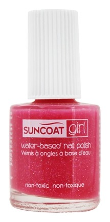 DROPPED: Suncoat - Girl Water-Based Nail Polish Fairy Glitter - 0.27 oz.