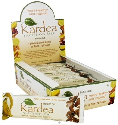 DROPPED: Kardea Nutrition - Natural Nutrition Bar Banana Nut - 1.4 oz.