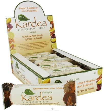 DROPPED: Kardea Nutrition - Natural Nutrition Bar Chai Spice - 1.4 oz. CLEARANCE PRICED