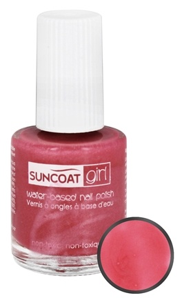 DROPPED: Suncoat - Girl Water-Based Nail Polish Apple Blossom - 0.27 oz.