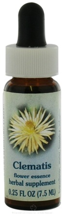 DROPPED: Flower Essence Services - Healing Herbs Dropper Clematis - 0.25 oz. CLEARANCE PRICED