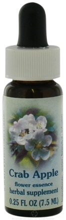 DROPPED: Flower Essence Services - Healing Herbs Dropper Crab Apple - 0.25 oz. CLEARANCE PRICED