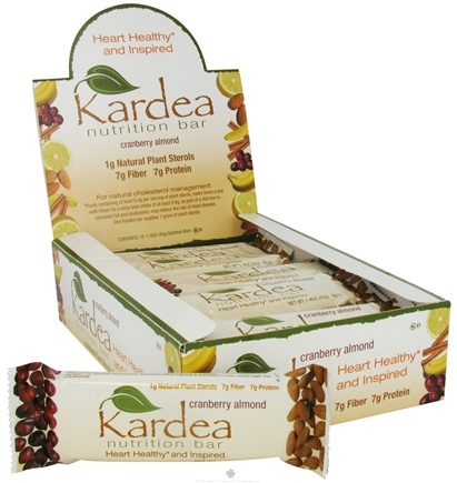 DROPPED: Kardea Nutrition - Natural Nutrition Bar Cranberry Almond - 1.4 oz.