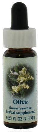 DROPPED: Flower Essence Services - Healing Herbs Dropper Olive - 0.25 oz. CLEARANCE PRICED
