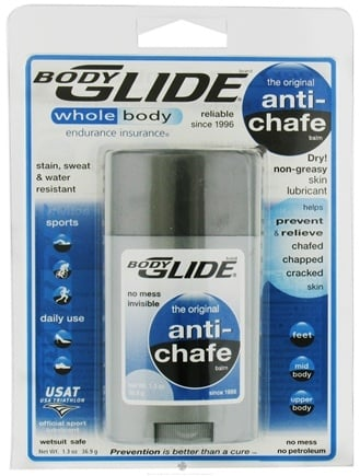 DROPPED: BodyGlide - Anti-Chafe - 1.3 oz. CLEARANCE PRICED