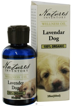 DROPPED: Nature's Inventory - Wellness Oil 100% Organic Lavender Dog - 2 oz. CLEARANCE PRICED