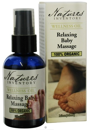 Zoom View - Wellness Oil 100% Organic Relaxing Baby Massage