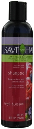 DROPPED: Save Your World - Save Your Hair Shampoo Regal Blossom - 8 oz. CLEARANCE PRICED