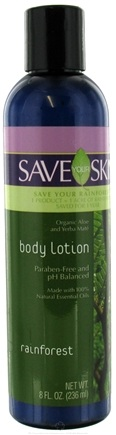 DROPPED: Save Your World - Save Your Skin Body Lotion Rainforest - 8 oz.