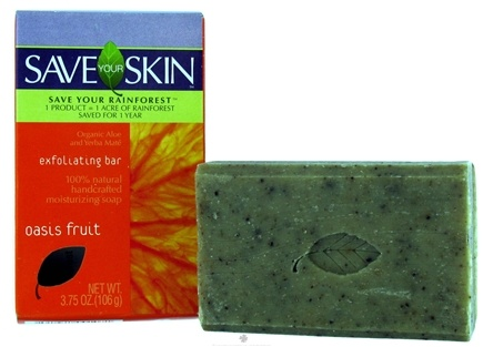 DROPPED: Save Your World - Save Your Skin Exfoliating Bar Oasis Fruit - 3.75 oz.