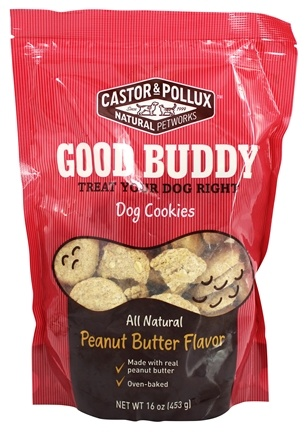 DROPPED: Castor & Pollux - Good Buddy Dog Cookies Peanut Butter Flavor - 16 oz.