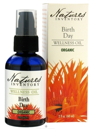 DROPPED: Nature's Inventory - Wellness Oil Organic Birth-Day - 2 oz.