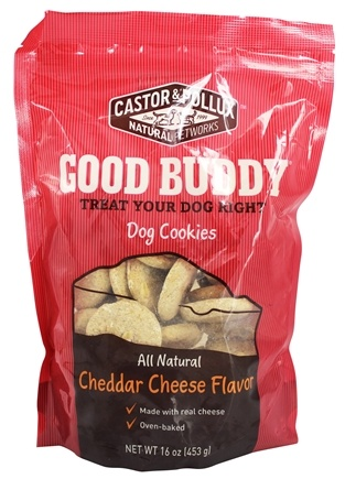 DROPPED: Castor & Pollux - Good Buddy Dog Cookies Cheddar Cheese Flavor - 16 oz.