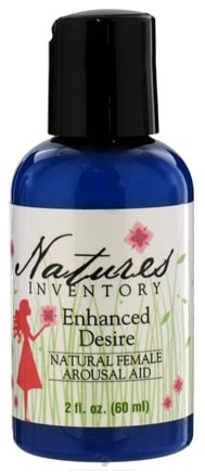 DROPPED: Nature's Inventory - Enhanced Desire Natural Female Arousal Aid - 2 oz.