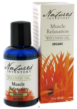 DROPPED: Nature's Inventory - Wellness Oil Organic Muscle Relaxation - 2 oz. CLEARANCE PRICED