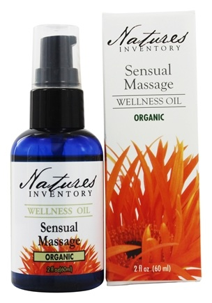DROPPED: Nature's Inventory - Wellness Oil Organic Sensual Massage - 2 oz.