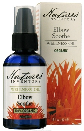 DROPPED: Nature's Inventory - Wellness Oil Organic Elbow Soothe - 2 oz. CLEARANCE PRICED