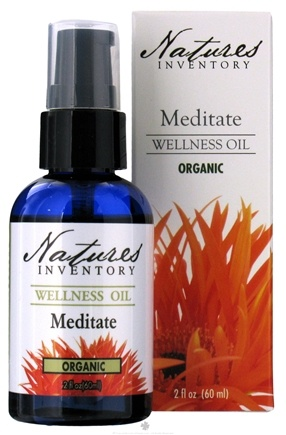 DROPPED: Nature's Inventory - Wellness Oil Organic Meditate - 2 oz. CLEARANCE PRICED