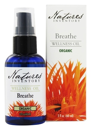 DROPPED: Nature's Inventory - Wellness Oil Organic Breathe - 2 oz.