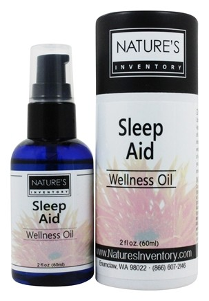 Nature's Inventory - Wellness Oil Organic Sleep Aid - 2 oz.