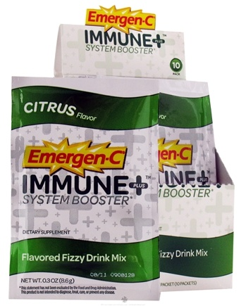 Zoom View - Emergen-C Immune Plus System Booster Drink Powder