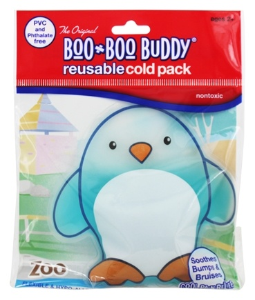 Zoom View - Reusable Cold Pack Zoo Designs Penguin