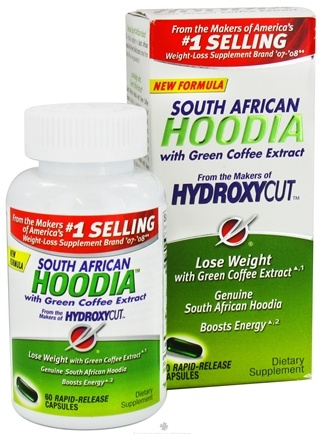 DROPPED: Muscletech Products - South African Hoodia with Green Coffee Extract Svetol® - 60 Capsules Formerly Hydroxycut Hoodia with Energy F/X