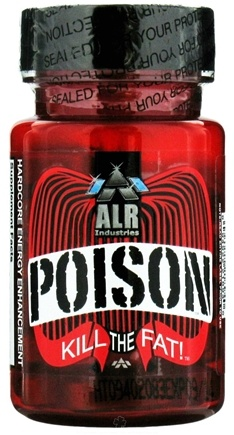 DROPPED: ALRI - Poison Hardcore Energy Enhancement and Fat Burner - 30 Tablets CLEARANCE PRICED