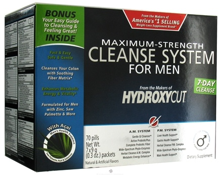 DROPPED: Muscletech Products - Hydroxycut Cleanse System For Men CLEARANCE PRICED
