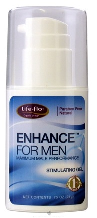 DROPPED: Life-Flo - Enhance for Men Maximum Male Performance Stimulating Gel - 0.75 oz. CLEARANCE PRICED