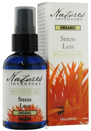 Zoom View - Wellness Oil Organic Stress Less