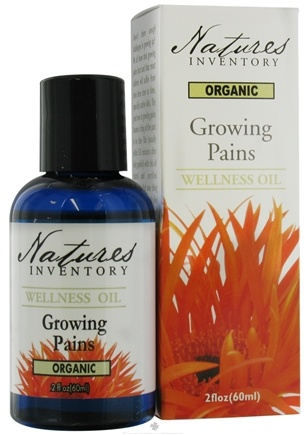 DROPPED: Nature's Inventory - Wellness Oil Organic Growing Pains - 2 oz. CLEARANCE PRICED