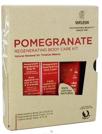 Zoom View - Pomegranate Regenerating Body Care Kit