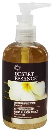DROPPED: Desert Essence - Hand Wash Coconut - 8 oz. LUCKY PRICE