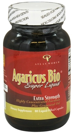 Zoom View - Agaricus Bio Super Liquid Extra Strength