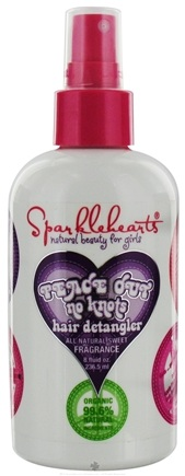 Zoom View - Peace Out No Knots Hair Detangler All Natural Sweet Fragrance