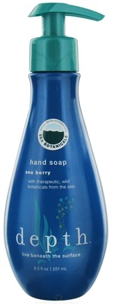DROPPED: Depth Body - Hand Soap Sea Berry - 8.5 oz. CLEARANCE PRICED