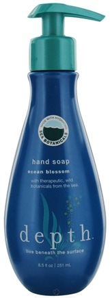 DROPPED: Depth Body - Hand Soap Ocean Blossom - 8.5 oz. CLEARANCE PRICED