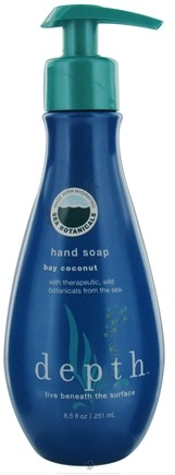 DROPPED: Depth Body - Hand Soap Bay Coconut - 8.5 oz. CLEARANCE PRICED