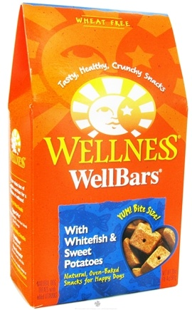 DROPPED: Wellness Pet - Wellbars Dog Treats Whitefish & Sweet Potatoes - 20 oz.