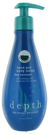 DROPPED: Depth Body - Hand And Body Lotion Bay Coconut - 12 oz.