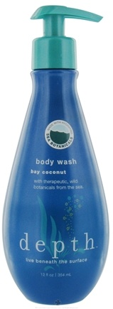 DROPPED: Depth Body - Body Wash Bay Coconut - 12 oz. CLEARANCE PRICED