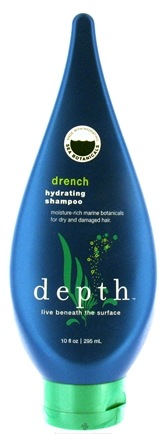 DROPPED: Depth Body - Hydrating Shampoo Drench Moisture-Rich For Dry & Damaged Hair - 10 oz.