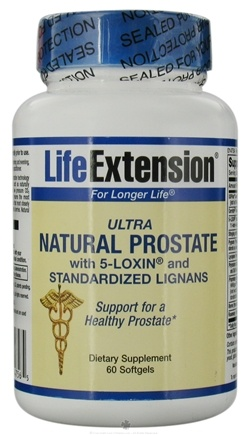 DROPPED: Life Extension - Ultra Natural Prostate with 5-Loxin - 60 Softgels